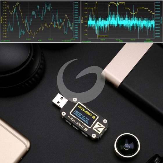 Bank 3 Meter.Power Z Usb Pd Tester Qc3 0 2 0 Charger Voltage Current Ripple Dual