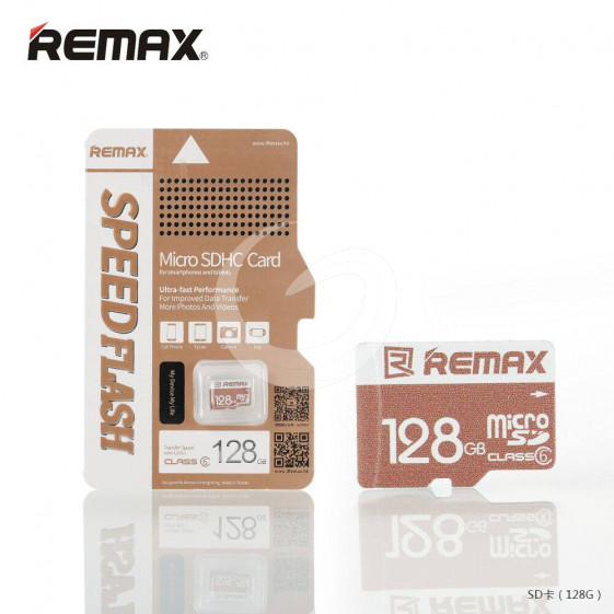 Remax Memory Card Micro SD Card 128GB For Phone/Tablet/Camera