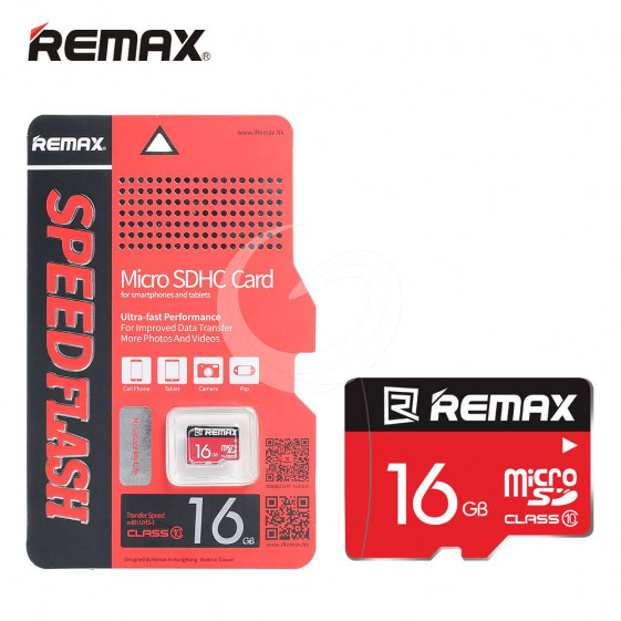 Remax Memory Card Micro SD Card 16GB For Phone/Tablet