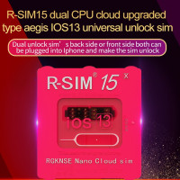 R SIM15 dual CPU Aegis cloud upgrade universal unlocking for iOS13